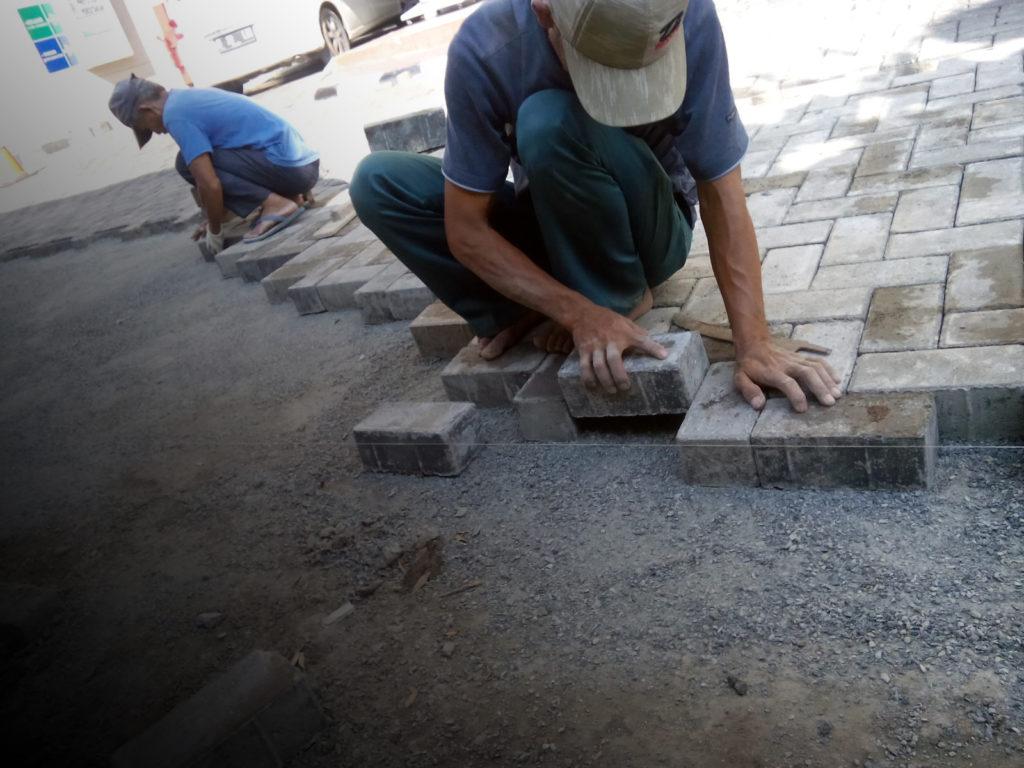 Langkah Tepat Memasang Paving Block