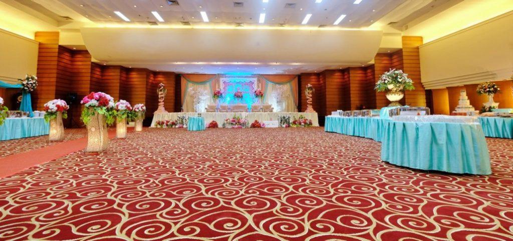 Karpet lantai Resepsi Pernikahan