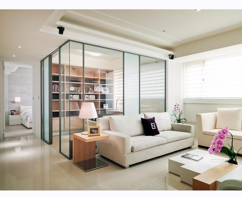 Ide Penggunaan Partisi Kaca Dalam Rumah Minimalis Harga Barang Interior Partisi kaca ruang tamu